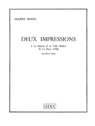 2 Impressions Eugène Bozza Partition Duos - laflutedepan
