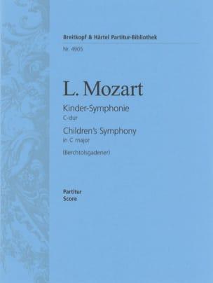Kinder-Symphonie C-dur - Partitur Leopold Mozart laflutedepan