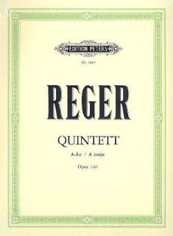 Klarinettenquintett A-Dur op.146 - Stimmen Max Reger laflutedepan