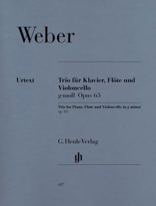 Trio en sol mineur op. 63 pour piano, flûte et violoncelle laflutedepan