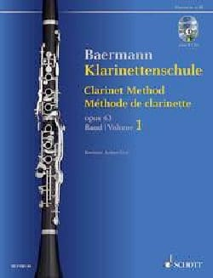Méthode de Clarinette, op. 63 - Volume 1 + 2 CDs laflutedepan