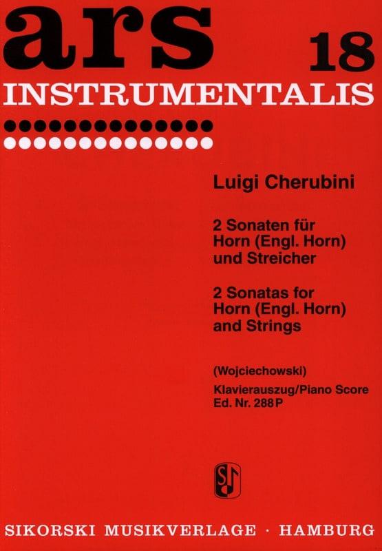 2 Sonaten für Horn Engl. Horn und Streichorchester - laflutedepan.com