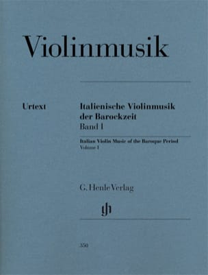 Musique italienne pour violon de l'époque baroque, volume 1 laflutedepan