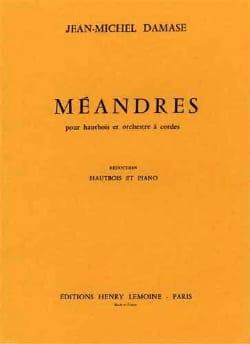 Méandres Jean-Michel Damase Partition Hautbois - laflutedepan