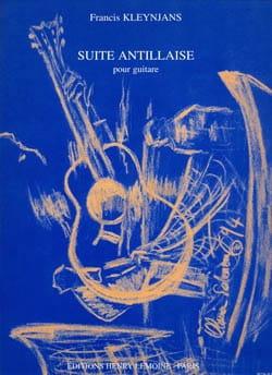 Suite antillaise Francis Kleynjans Partition Guitare - laflutedepan