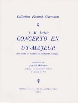 Concerto en Ut Majeur, Op. 7 N°3 - Flûte et Piano LECLAIR laflutedepan
