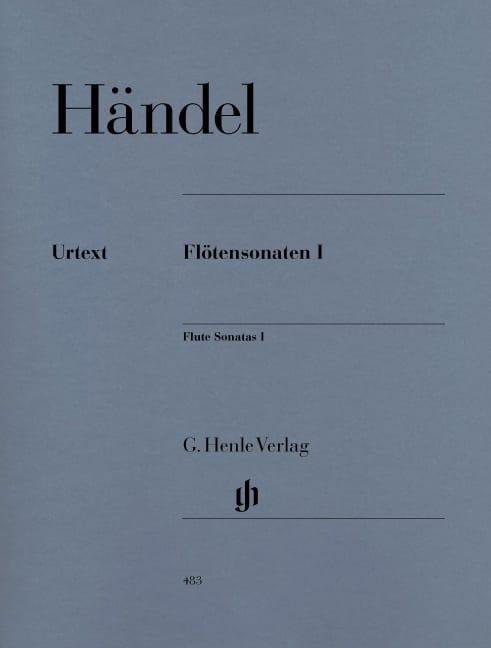 Sonates pour flûte, volume 1 - HAENDEL - Partition - laflutedepan.com