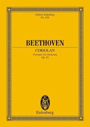Coriolan, Ouverture - BEETHOVEN - Partition - laflutedepan.com