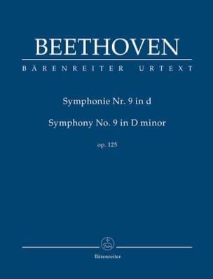 Symphonie n° 9 en Ré Mineur - Conducteur BEETHOVEN laflutedepan