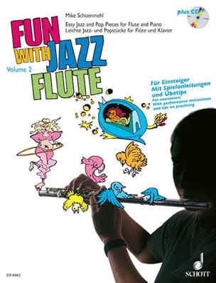 Fun with Jazz Flute - Volume 2 - Mike Schoenmehl - laflutedepan.com