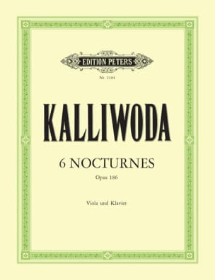 6 Nocturnes op. 186 Johannes Wenzeslaus Kalliwoda laflutedepan