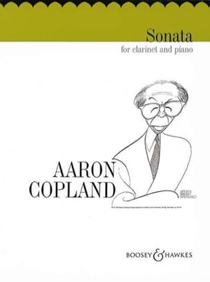 Sonata - Clarinet piano COPLAND Partition Clarinette - laflutedepan