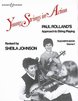 Young strings in action, Volume 1 - Teacher's book laflutedepan