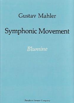 Symphonic movement - Blumine - Score - MAHLER - laflutedepan.com