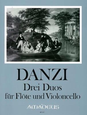 3 Duos, op. 64 Franz Danzi Partition Duos - laflutedepan