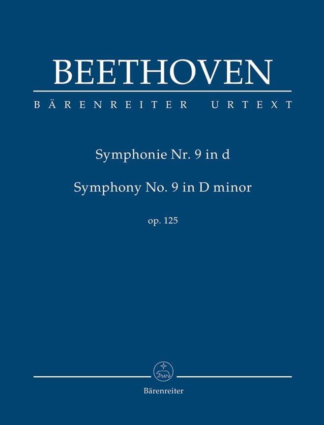 Symphonie n° 9 en Ré Mineur - Conducteur - laflutedepan.com