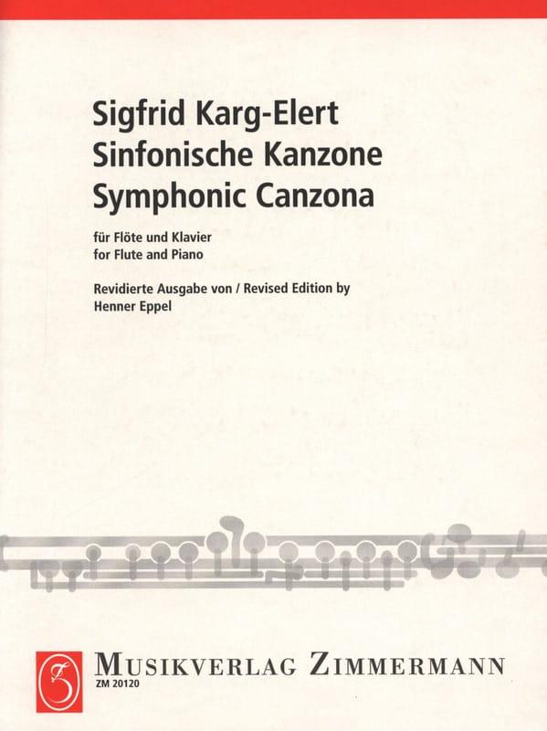 Sinfonische Kanzone - Sigfrid Karg-Elert - laflutedepan.com