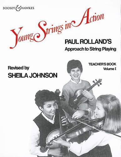Young strings in action, Volume 1 - Teacher's book - laflutedepan.com