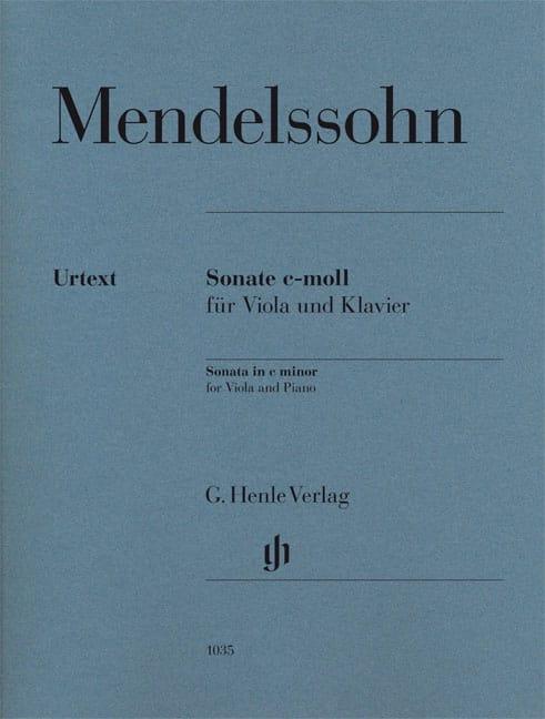Sonate pour alto en ut mineur - MENDELSSOHN - laflutedepan.com