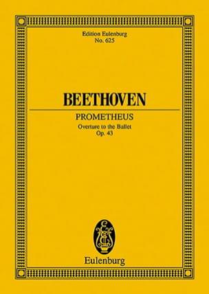 Die Geschöpfe des Prometheus, op. 43 BEETHOVEN Partition laflutedepan