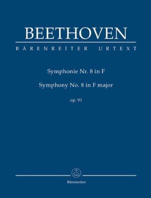 Symphonie n° 8 en Fa Majeur BEETHOVEN Partition laflutedepan