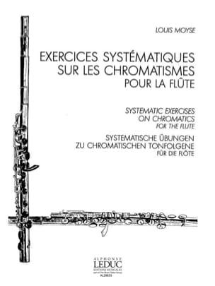 Exercices systématiques sur les chromatismes Louis Moyse laflutedepan