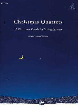 Christmas Quartets -Score + Parts Turner Barrie Carson laflutedepan