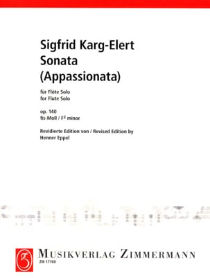 Sonata appassionata op. 140 - Flûte solo laflutedepan