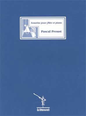 Sonatine - Flûte piano Pascal Proust Partition laflutedepan