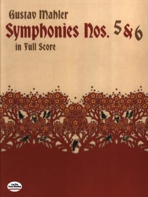 Symphonies N° 5 & 6 - Full Score MAHLER Partition laflutedepan