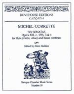 6 Sonatas op. 13 n° 3-4 - Flute Bc CORRETTE Partition laflutedepan