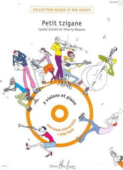 Petit tzigane - 2 violons piano laflutedepan