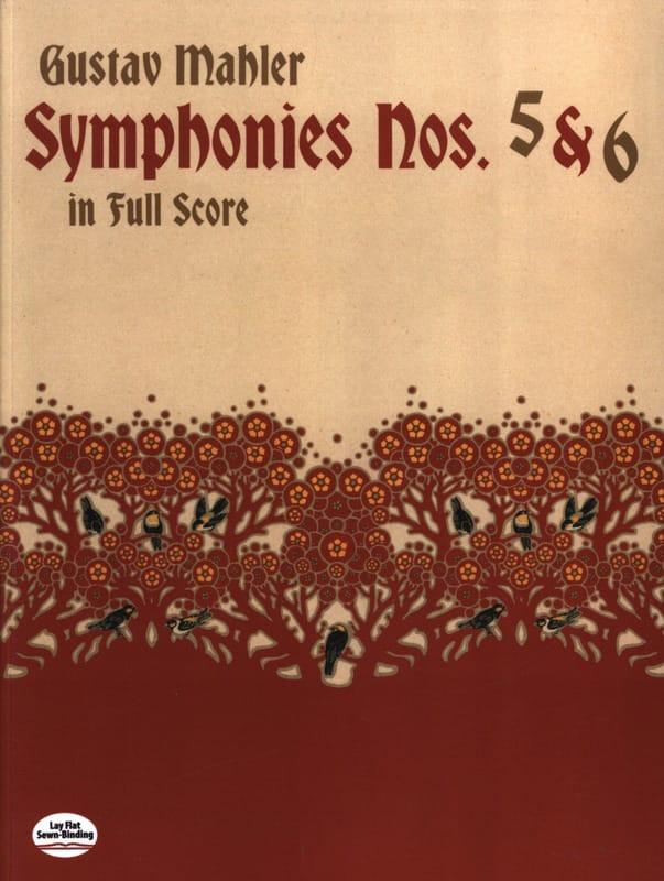 Symphonies N° 5 & 6 - Full Score - MAHLER - laflutedepan.com