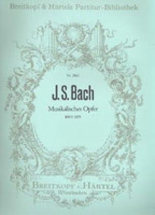 Musikalisches Opfer BWV 1079 - Conducteur - BACH - laflutedepan.com