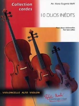 10 Duos Inédits Vol. 1 - Maria- Eugénia Maffi - laflutedepan.com