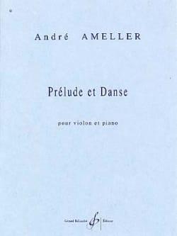 Prélude et danse André Ameller Partition Violon - laflutedepan