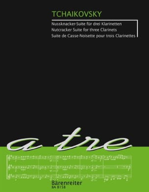 Der Nussknacker-Suite - 3 clarinettes TCHAIKOVSKY laflutedepan