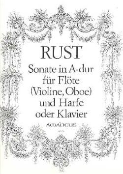 Sonate in A-Dur - Flöte Violine, Oboe Harfe Klavier laflutedepan