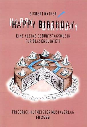 Happy Birthday - Bläserquintett - Partitur + Stimmen laflutedepan
