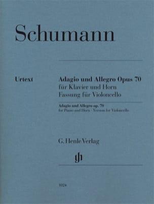 Adagio et Allegro op. 70, version pour violoncelle et piano laflutedepan