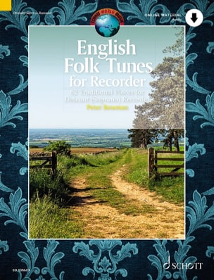 English Folk Tunes for Recorder Traditionels Partition laflutedepan