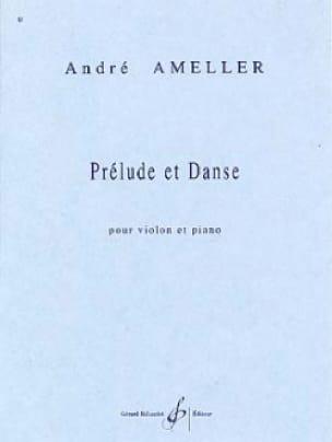 Prélude et danse - André Ameller - Partition - laflutedepan.com