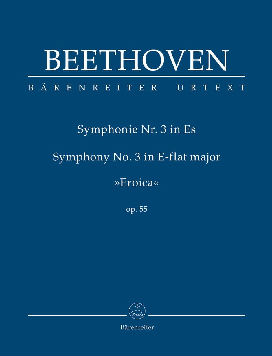 Symphonie N° 3 Mi B Maj. Héroïque - BEETHOVEN - laflutedepan.com