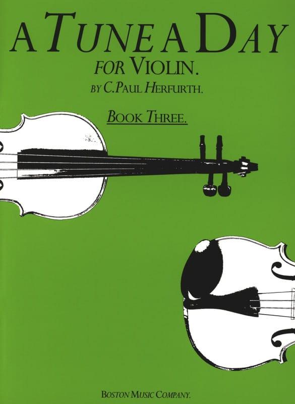 A tune a day, Volume 3 - Violin - Paul C. Herfurth - laflutedepan.com