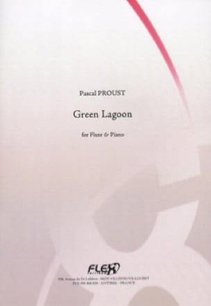 Green Lagoon - Pascal Proust - Partition - laflutedepan.com