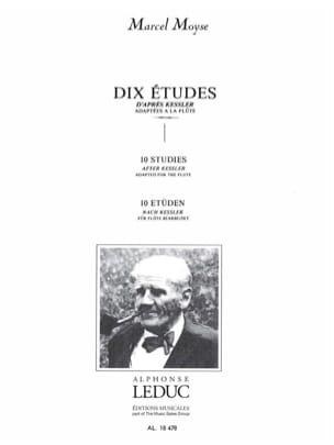 10 Etudes - Flûte - Kessler / Moyse Marcel - laflutedepan.com