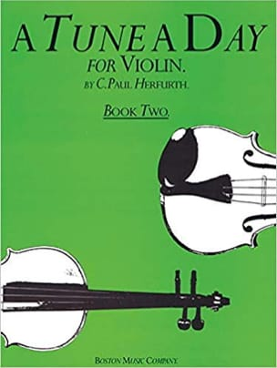 A tune a Day Volume 2 - Violon Paul C. Herfurth Partition laflutedepan