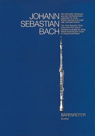 Les plus beaux solos de hautbois des cantates d' Eglise. laflutedepan