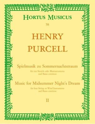 Spielmusik zum Sommernachtstraum. Heft 2 Nr. 1 - 9 -Partitur - laflutedepan.com