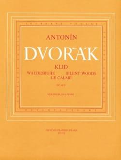 Le calme op. 68 n° 5 DVORAK Partition Violoncelle - laflutedepan